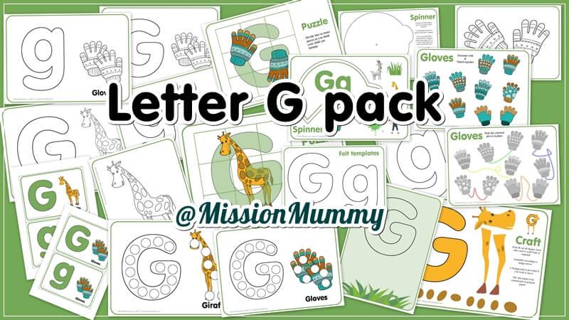 Tot school week 7 letter g mission mummymission mummy letter g totschool pack spiritdancerdesigns Gallery