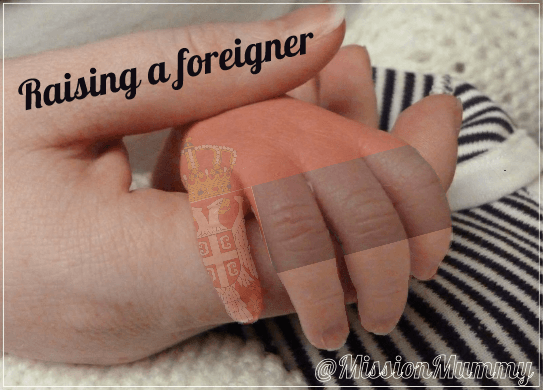 Raising a Foreigner