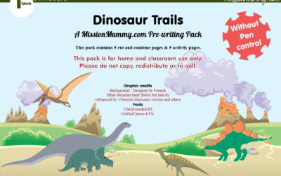 Dinosaur Theme pack