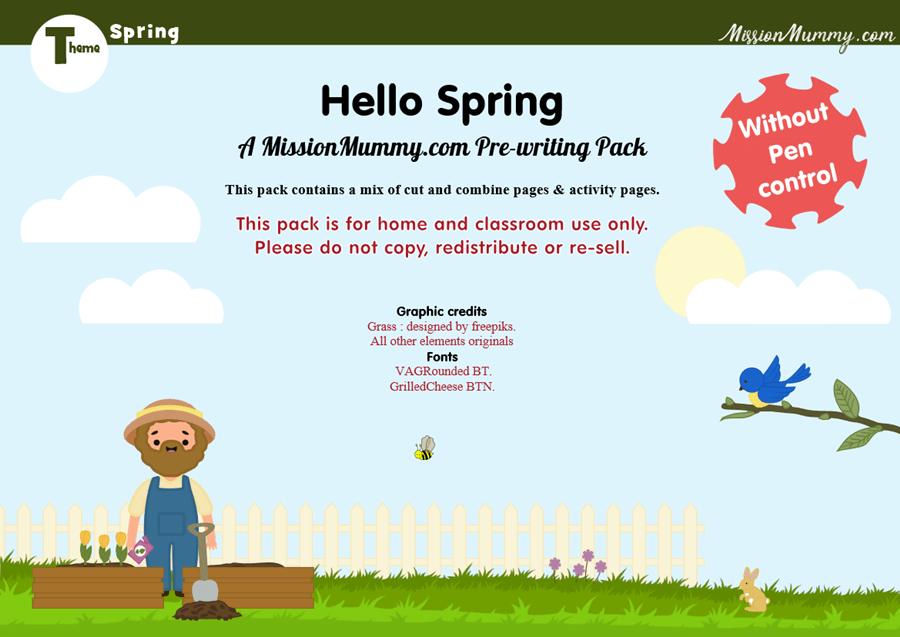 Preschool Spring Pack